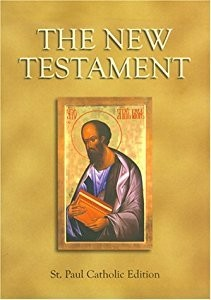 The New Testament Bible (Large Print)