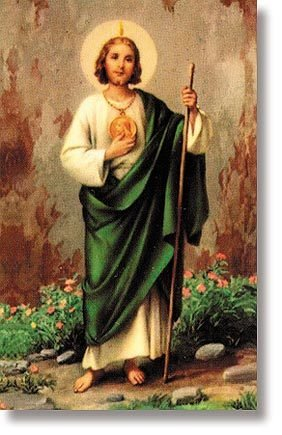 St Jude Prayer Card (Don't Quit)