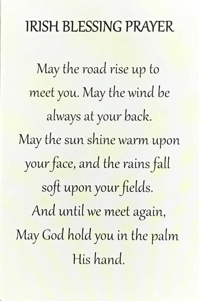Irish Blessing Wallet Prayer Card