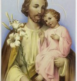 St Joseph Wallet Prayer Card