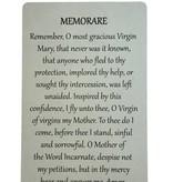 Memorare Wallet Prayer Card