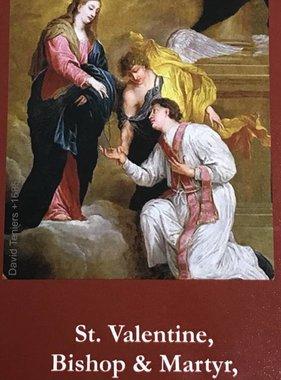 St. Valentine Exchange Prayer Card