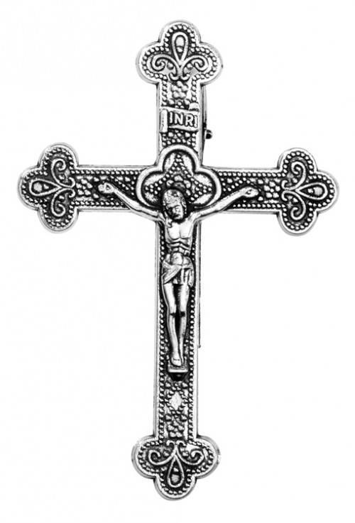 Crucifix Visor Clip