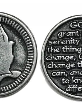 Serenity Prayer Pocket Token