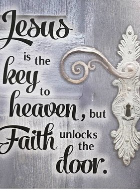 St. Benedict Key Pendant w/Prayer Card
