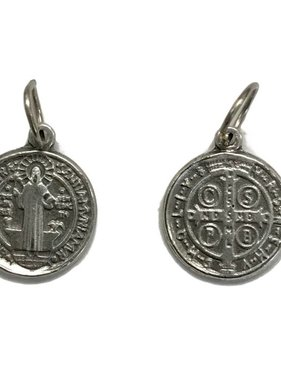St. Benedict Medal Charm 1/2""