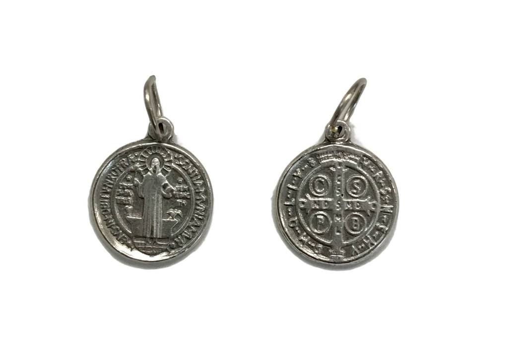 "St. Benedict Medal Charm 1/2"""
