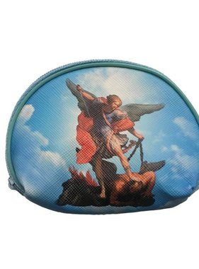St Michael Rosary Zipper Bag