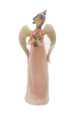 "7.25"" Pastel Pink Angel"