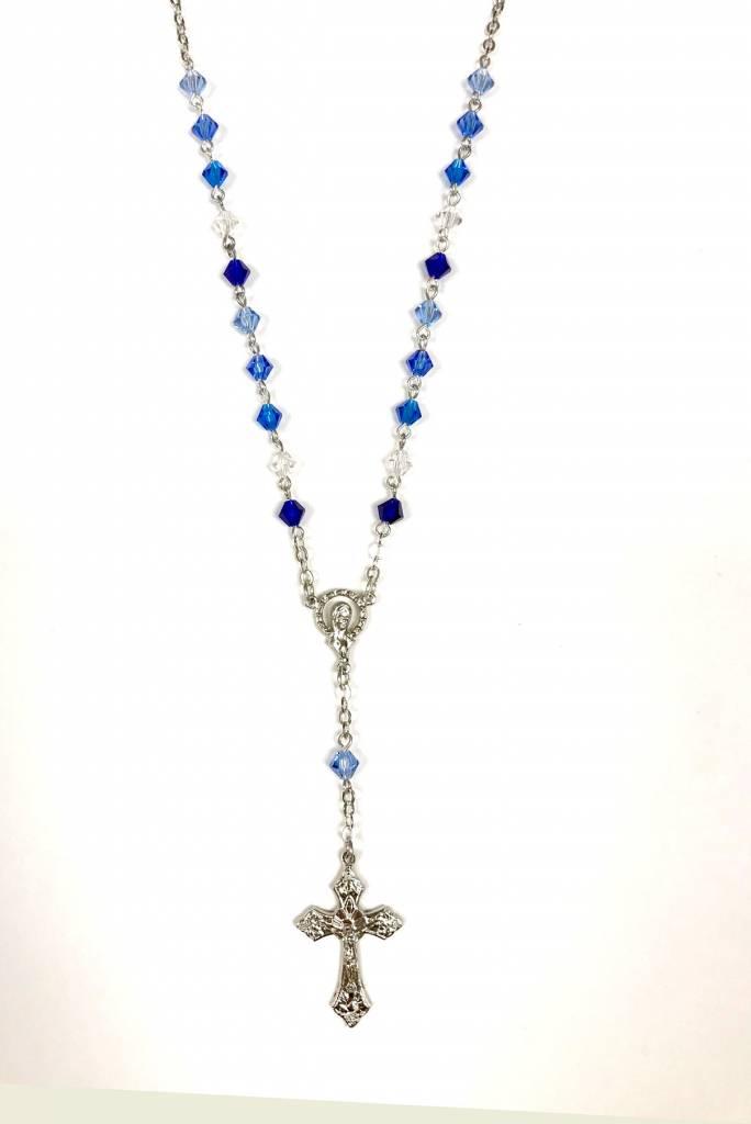Blue Auto Rosary