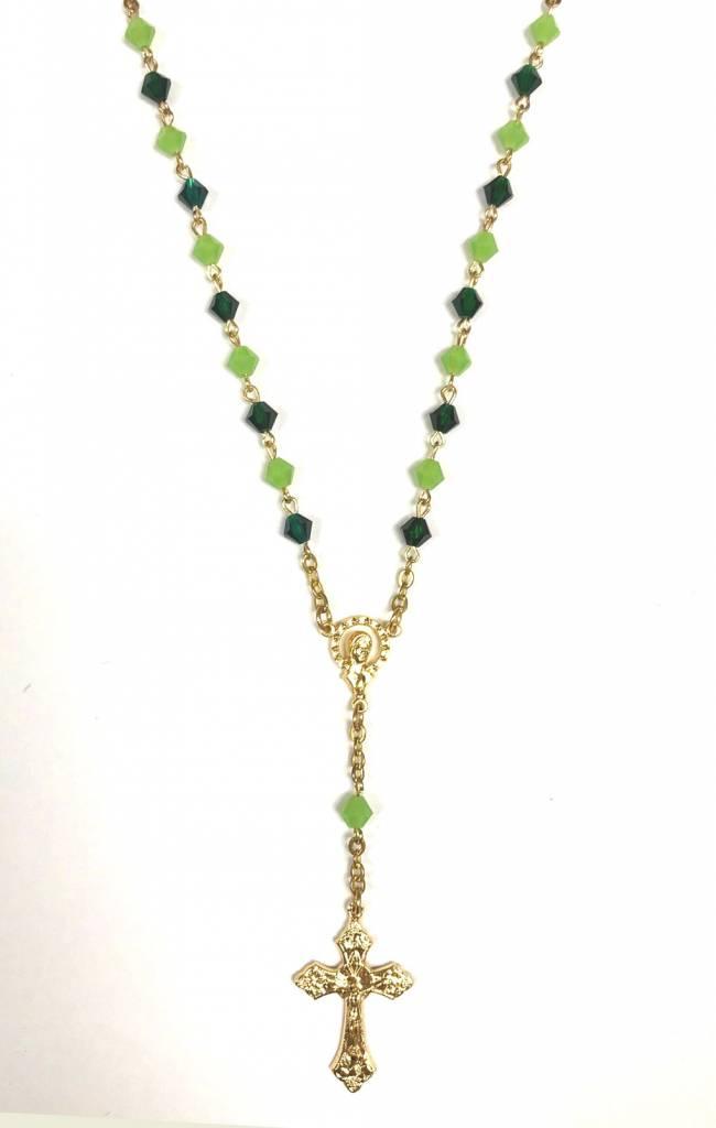 Green Auto Rosary