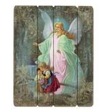 """15"""" Guardian Angel Plaque"""