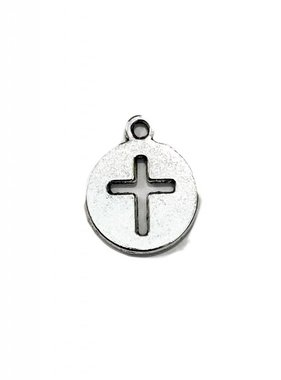 Cross In Circle Charm