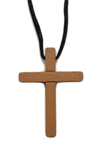 Wood Cross Pendant