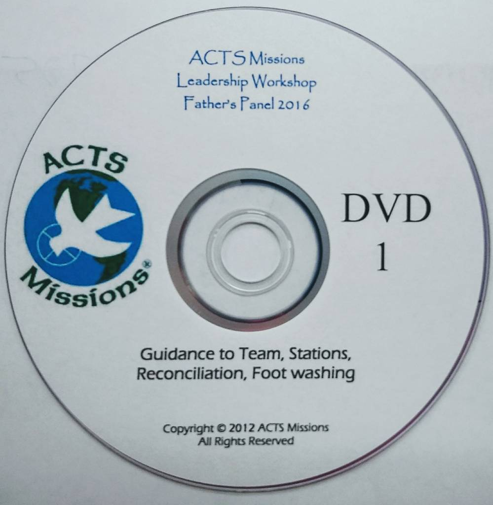 ACTS Fathers Panel (2 Part Disc)
