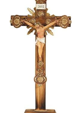 """10"""" Ornate Standing Crucifix"""