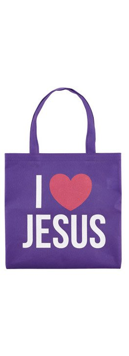 I love Jesus Mini Tote Bag