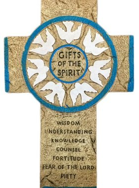 Gifts of the Spirit Wall Cross