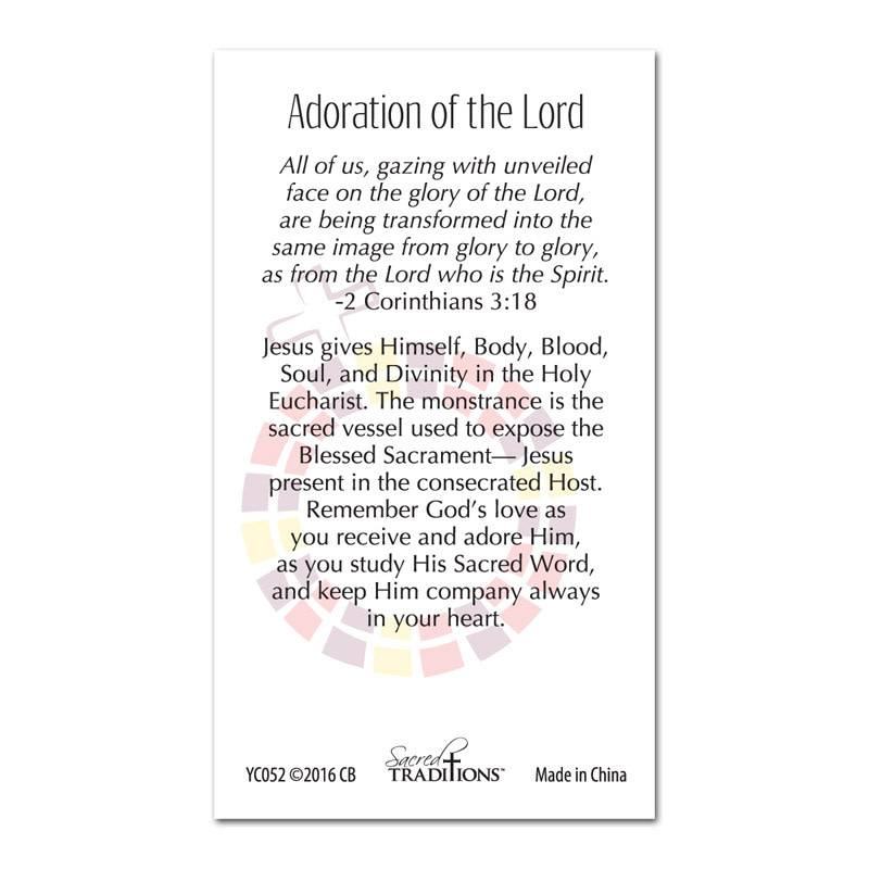 Adoration of the Lord Lapel Pin