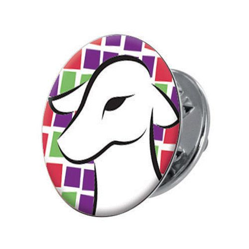 The Lamb of God Lapel Pin