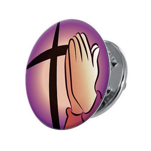 Come Lord Jesus Lapel Pin