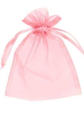 "Pink Organza Bag 3""X2"""