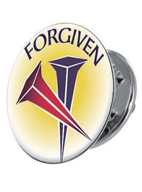 Forgiven Lapel Pin