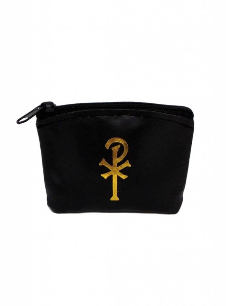 Black Zippered Rosary Case