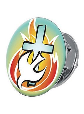 The Flame of the Spirit Lapel Pin