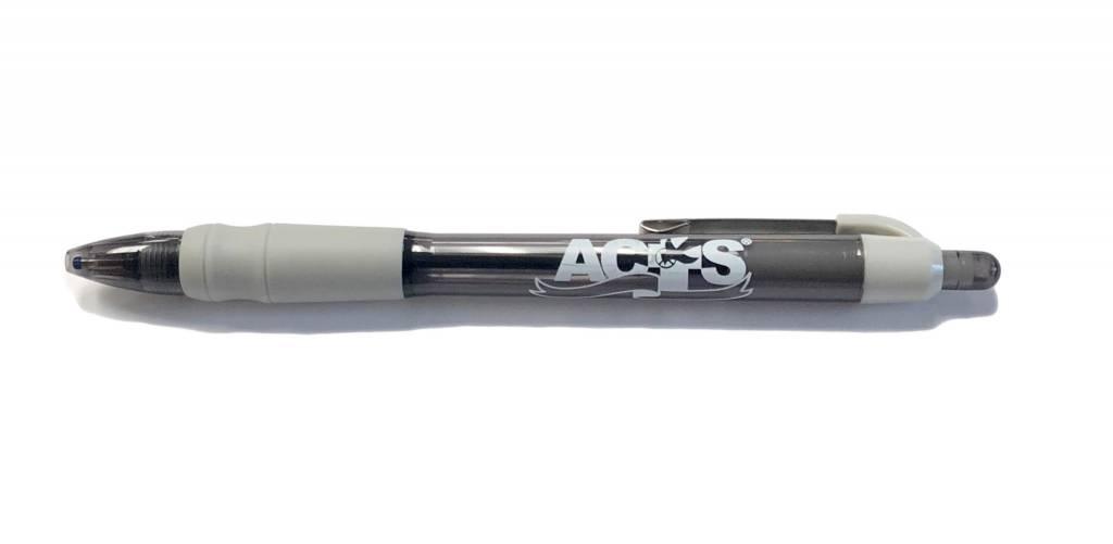 ACTS Ribbon Logo Pen Gray