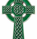 Green Celtic Cross Visor Clip