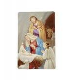 At the Manger Wallet Prayer Card
