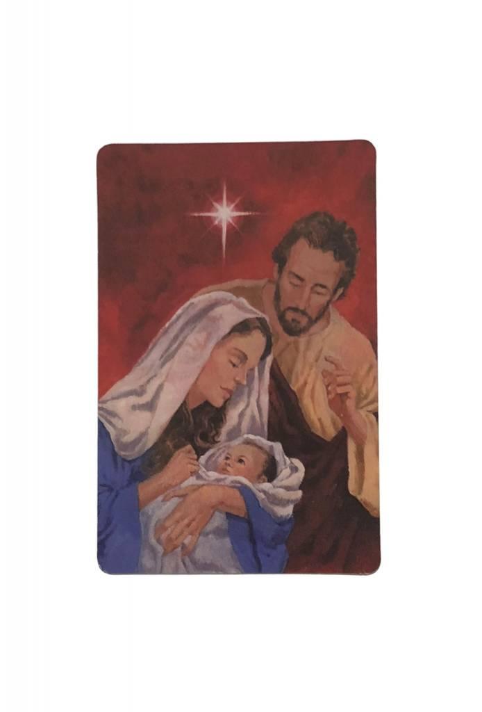 Christmas Novena Wallet Prayer Card