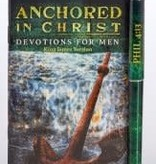 Anchored in Christ Men's Devotional Booklet w/Pen