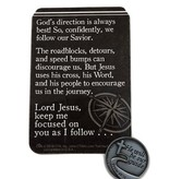 God's Direction is Always Best Pocket Token & Prayer Card
