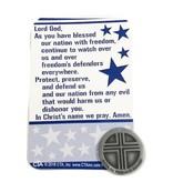 In God We Trust Pocket Token & Prayer Card