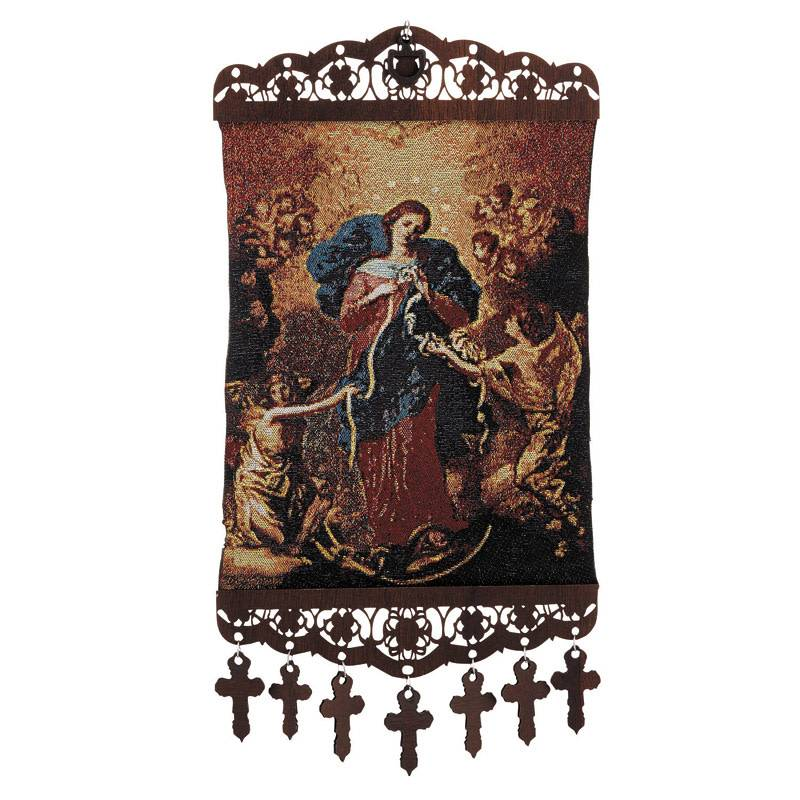 Mary Untier of Knots Tapestry