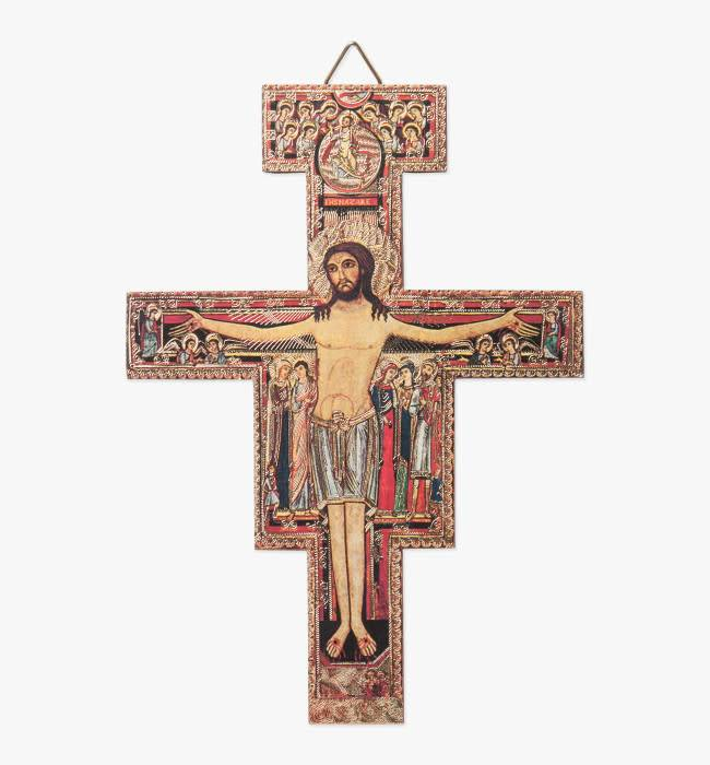 San Damiano Wall Crucifix
