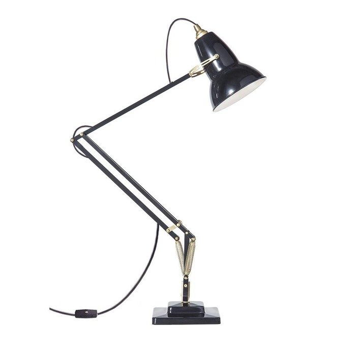Original 1227 Brass Desk Lamp Deep Slate