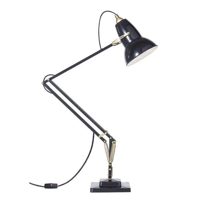 Original 1227 Brass Desk Lamp Deep Slate