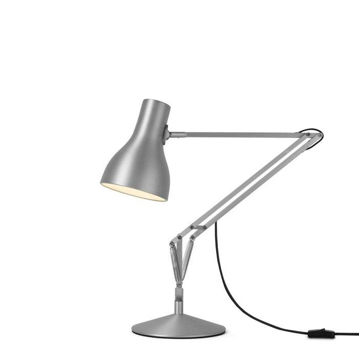 Type 75 Desk Lamp Brushed Aluminium