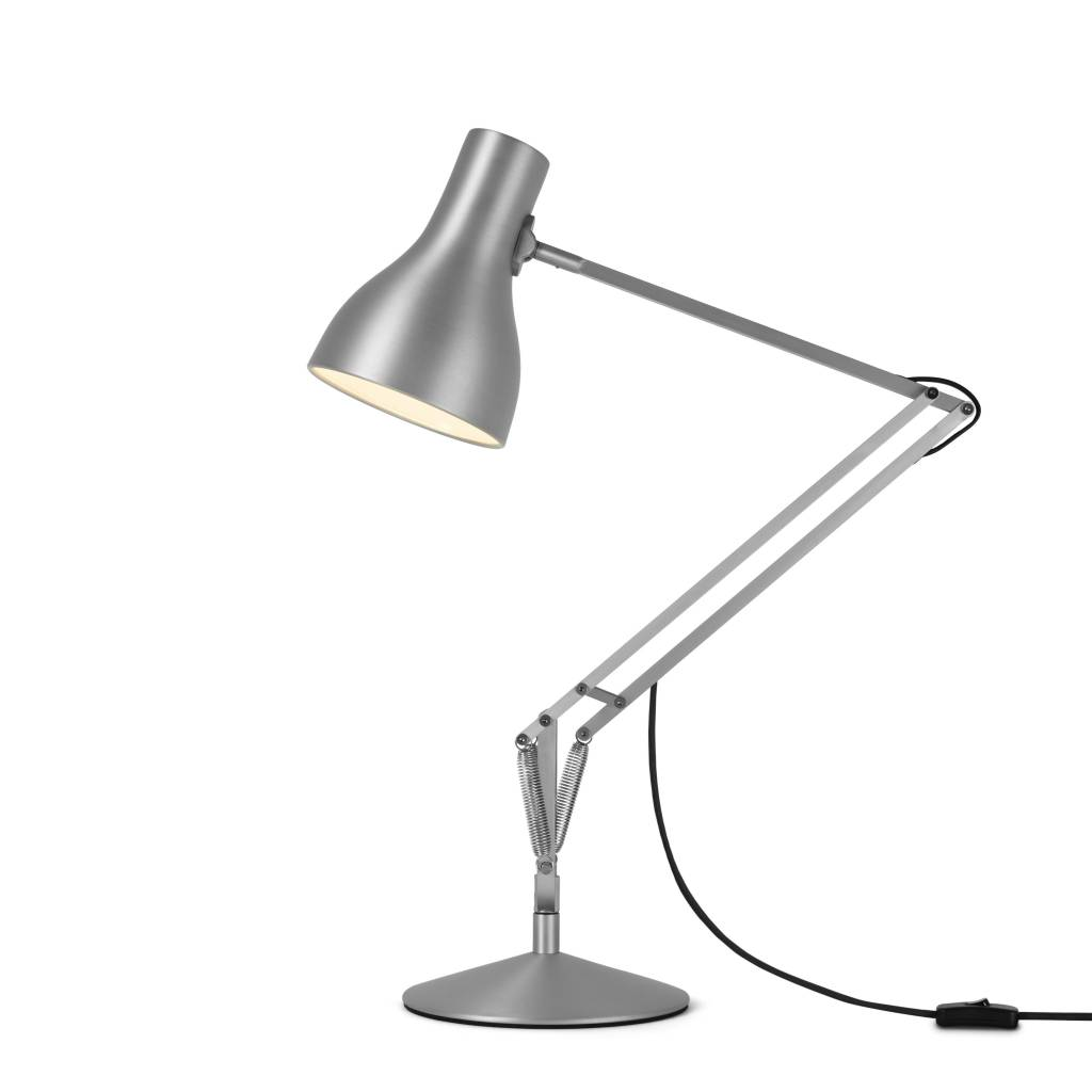 Type 75 Desk Lamp Brushed Aluminium