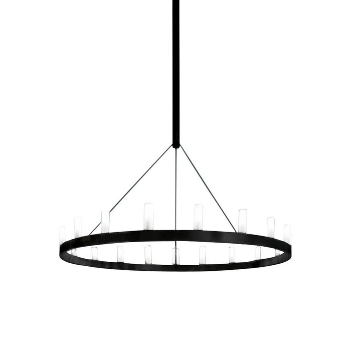 Chandelier Black Single
