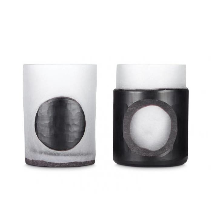 Carved Stem Vase (Set of 2)