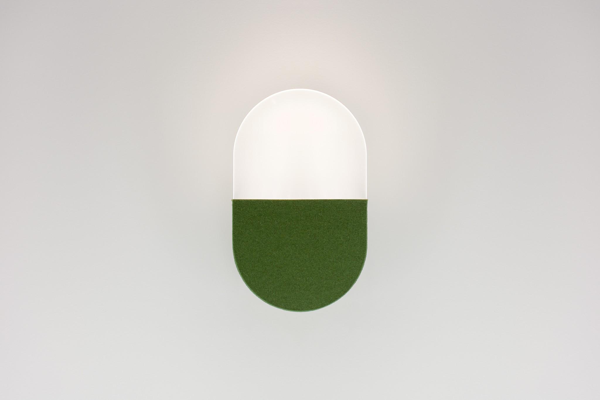 Slab wall green
