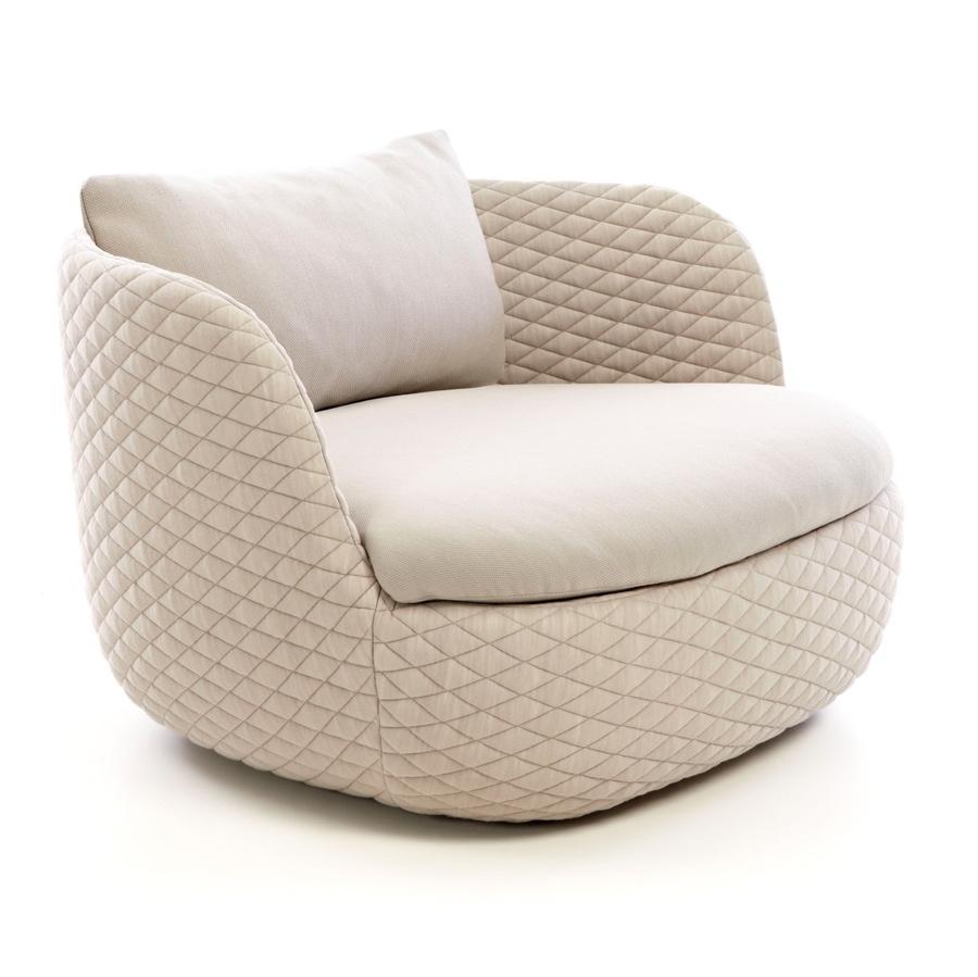 Bart armchair brown