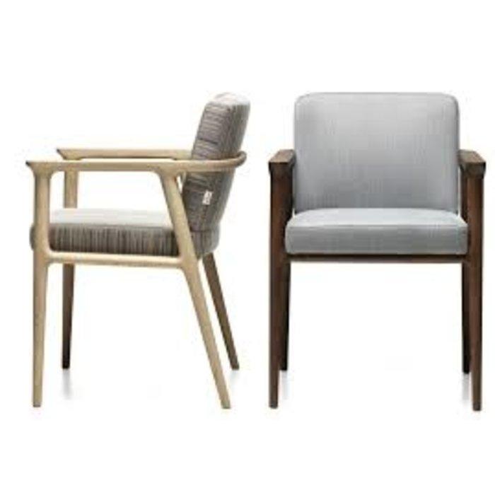 Zio dinning chairs latte/cinnamon x4