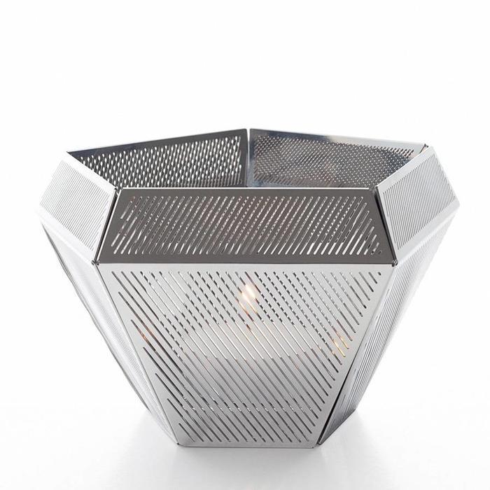 Cell - Tea Light Holder Steel