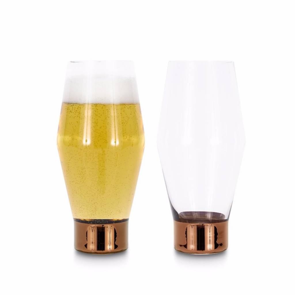Tank Beer Glasses x2