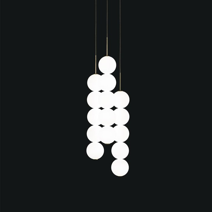 Abacus Suspension 3x5 Spheres